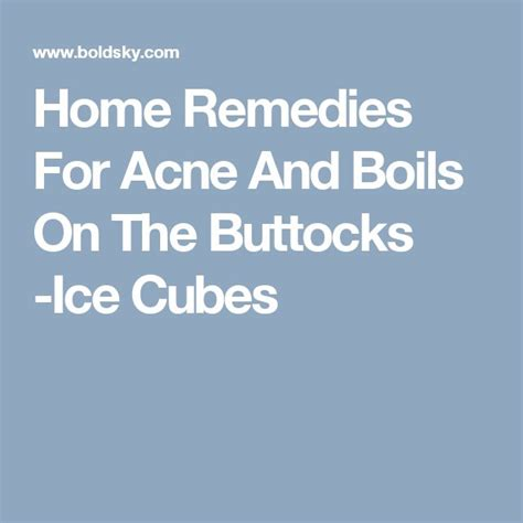 25 best ideas about pimples on buttocks on