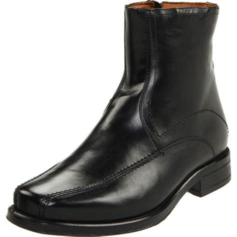 mens shoe boots with zipper boot 2017