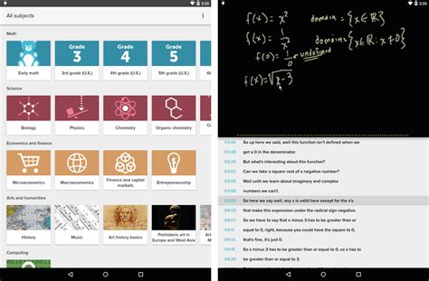 khan academy android khan academy android app now available to everyone mobilesyrup