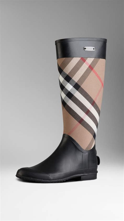 burberry boots for burberry check panel boots cool looks