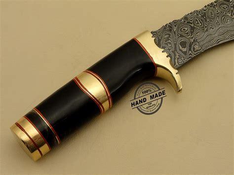Handmade Daggers - professional dagger knife custom handmade damascus