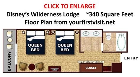 wilderness lodge floor plan accommodations at disney s wilderness lodge
