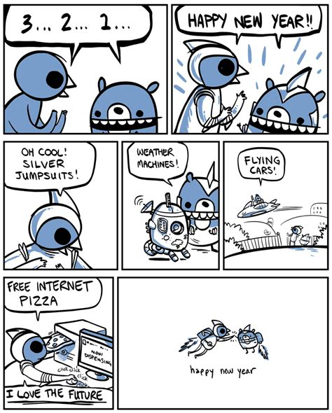 new year comic strips everything changes by nedroid comics happy new year
