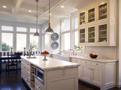 tradtioanal white kitchen design calacatta marble traditional white country kitchen 15 cool interior