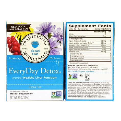 Detox Everyday by Everyday Detox Organic Herbsgarden Mart Organic