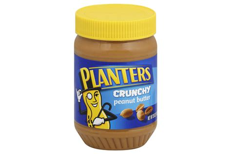 Planters Crunchy Peanut Butter 28 Oz Jar Kraft Recipes Planters Peanut Butter