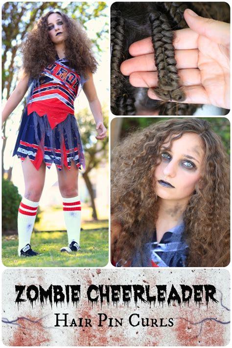 cute girl hairstyles zombie zombie cheerleader hair pin curls cute girls hairstyles