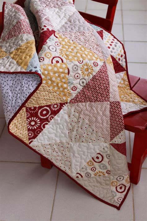 Simple Quilt Binding by Baby Quilt Binding