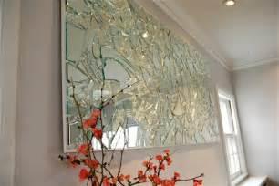 spiegel dekoration someday crafts stunning broken mirror wall