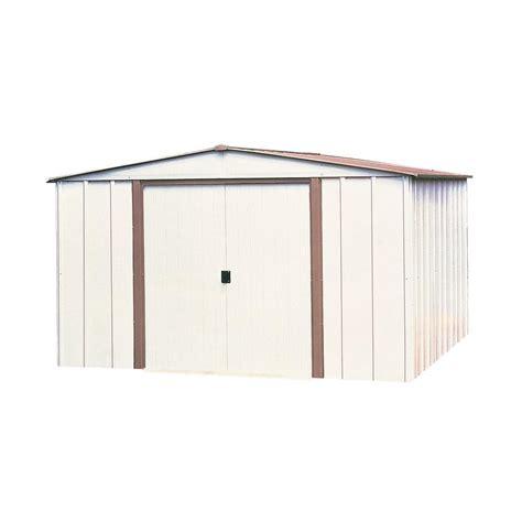 Metal Sheds At Home Depot by Arrow Salem 10 Ft X 8 Ft Steel Storage Building Sa108