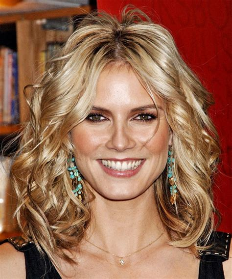 hair style square chin heidi klum hairstyles in 2018