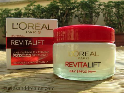 Loreal Day curios and dreams makeup and product reviews l oreal revitalift anti wrinkle