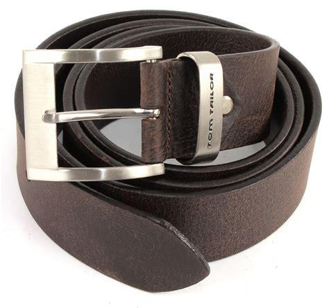 tom taylor belts tom tailor g 252 rtel belt tg1165h31 w80 dark brown