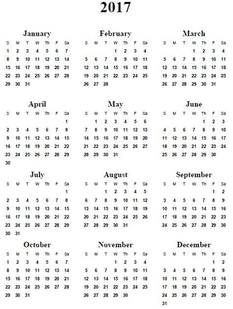free printable yearly photo calendar best 20 2017 yearly calendar ideas on pinterest