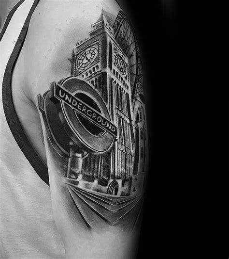 3d tattoo in london 50 big ben tattoo designs for men clock ink ideas
