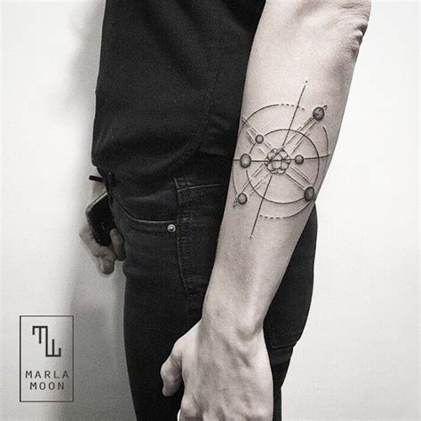 tattoo ideas universe 30 scientific atomic designs and ideas secrets of