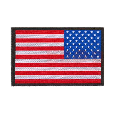 flag patch usa reversed flag patch iron site airsoft shop