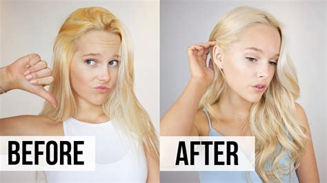 how to fix brassy hair at home toner tutorial