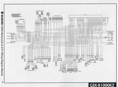 suzuki gsx    motorcycle wiring diagram   wiring diagrams
