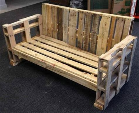 building a bench out of pallets wooden pallet bench plans recycled things