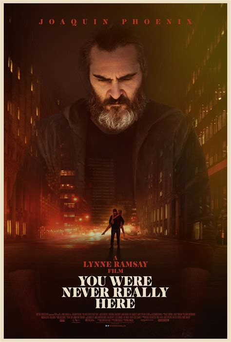You Were Here you were never really here poster f i l m y k e e d a