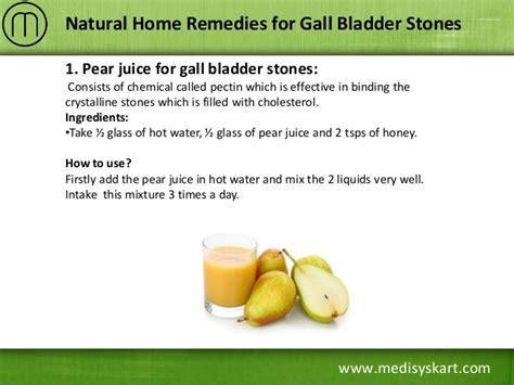 home remedies for gall bladder stones
