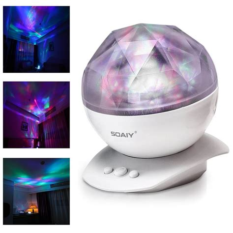 romantic colorful led night light aurora projector cosmos