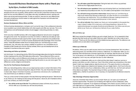 thank you letter business development follow up thank you letter after business meeting