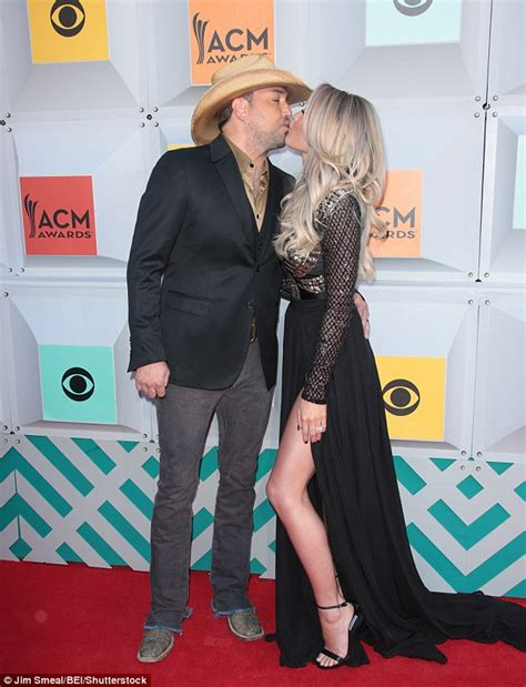 jason aldean gets a big surprise from wife brittany on jason aldean kisses mistress turned wife brittany kerr