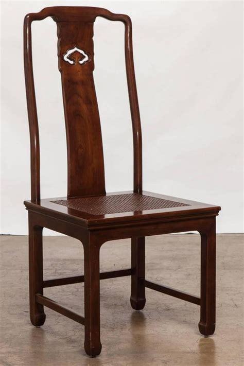 Henredon Dining Room Chairs set of four chinese ming dining chairs by henredon at 1stdibs