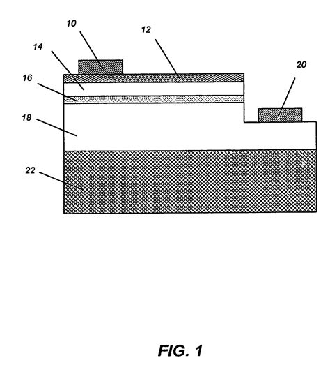 light emitting diode nitride patent us20070121690 highly efficient gallium nitride based light emitting diodes via surface