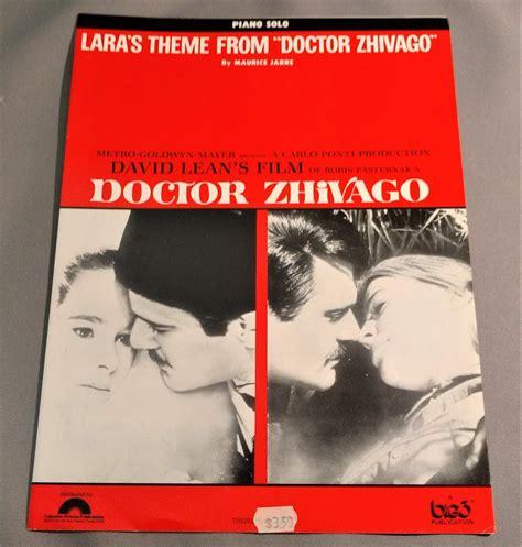 theme music dr zhivago lara s theme from quot doctor zhivago quot sheet music omar sharif