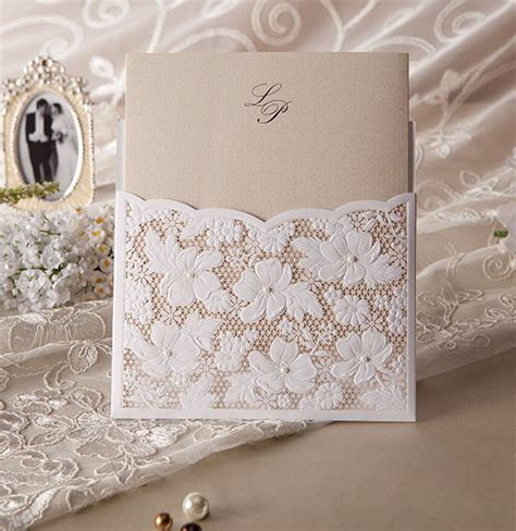 Elegante Hochzeitseinladungen by Top 10 Laser Wedding Invitations