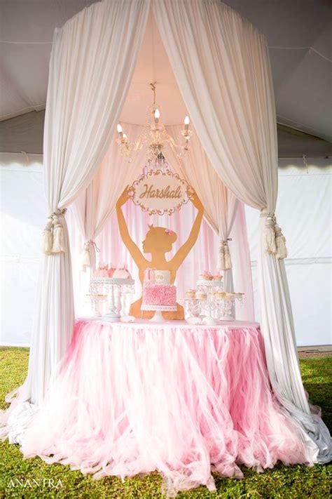 birthday themes elegant kara s party ideas elegant ballerina birthday party kara