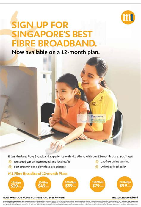 fibre broadband 12 month plan 187 m1 smartphones tablets