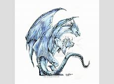 ice dragons drawings