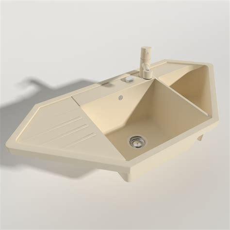 Kitchen Sink Models 3d Model Kitchen Sink Blanco