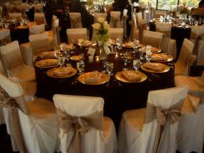 Table Settings For Weddings Beautiful Wedding Table Setting Chair Covers Bows My Tucson Wedding