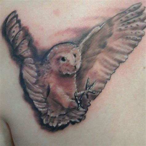 tattoo barn owl barn owl tattoo body art pinterest