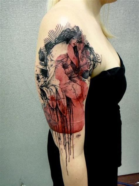 french tattoo artist phenomenally artistic photoshop style tattoos 29 pics