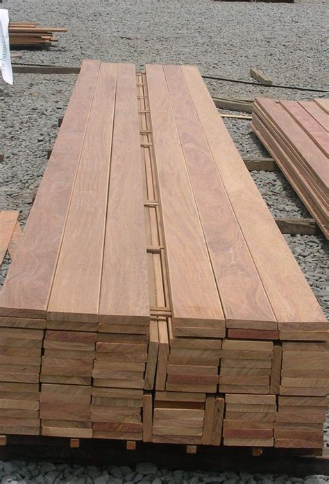Deck Planks by Hardwood Decking Costs And Types Wood And Beyond