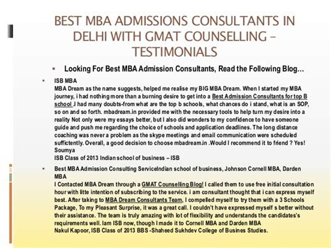 Mba Admissions Cnsulting by Best Mba Admission Consultants For Top B School With Gmat
