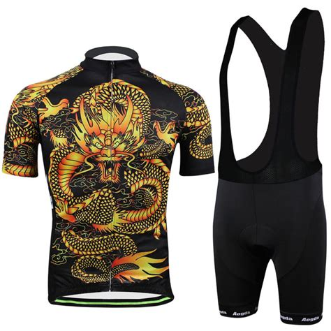 pattern bike jersey cycling jerseys bike jersey pants dragon pattern 2015