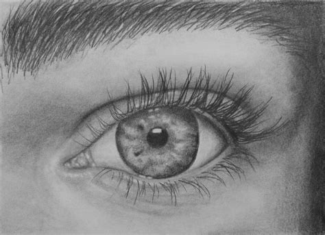 A Drawing Of An Eye by How To Draw Tutorial Learn To