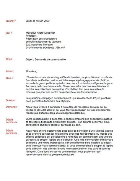 Modeles De Lettres De Sollicitation Modele Lettre De Remerciement Commandite