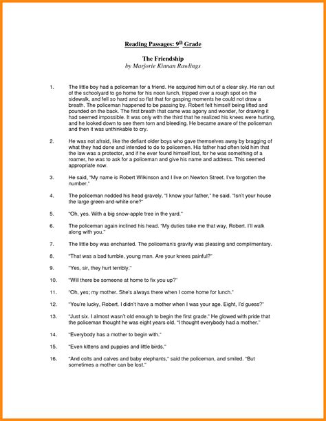 Worksheets For 9th Grade by 9 9th Grade Worksheets Math Cover