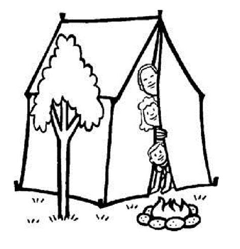 summer camp coloring pages coloring