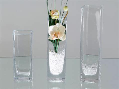 Deko Vasen Glas by Vase Aus Glas Eckig 15 Cm Hoch Formano Deko Links Ebay