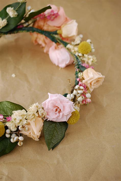How To Make A Flower Crown Out Of Paper - how to make a flower crown