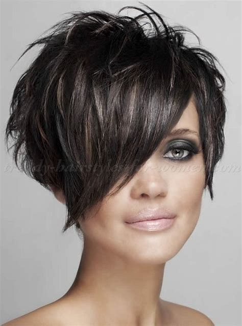 razor cut hairstyle with spiky on top 17 best ideas about short sassy haircuts on pinterest